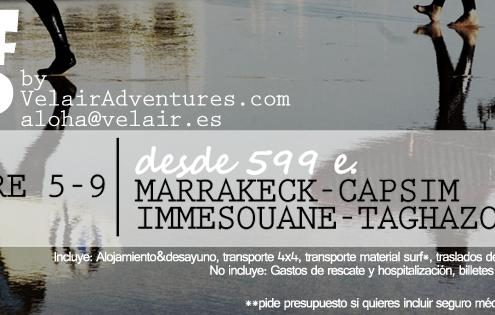 puente diciembre - velair adventuraes - surfear en marruecos