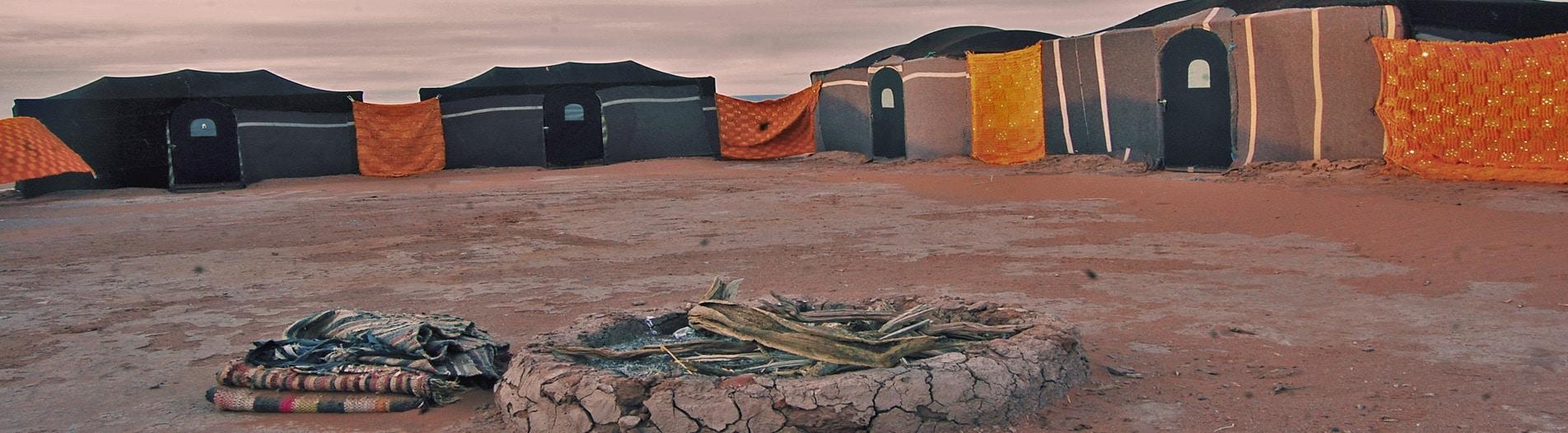 Camping Desert Sahara