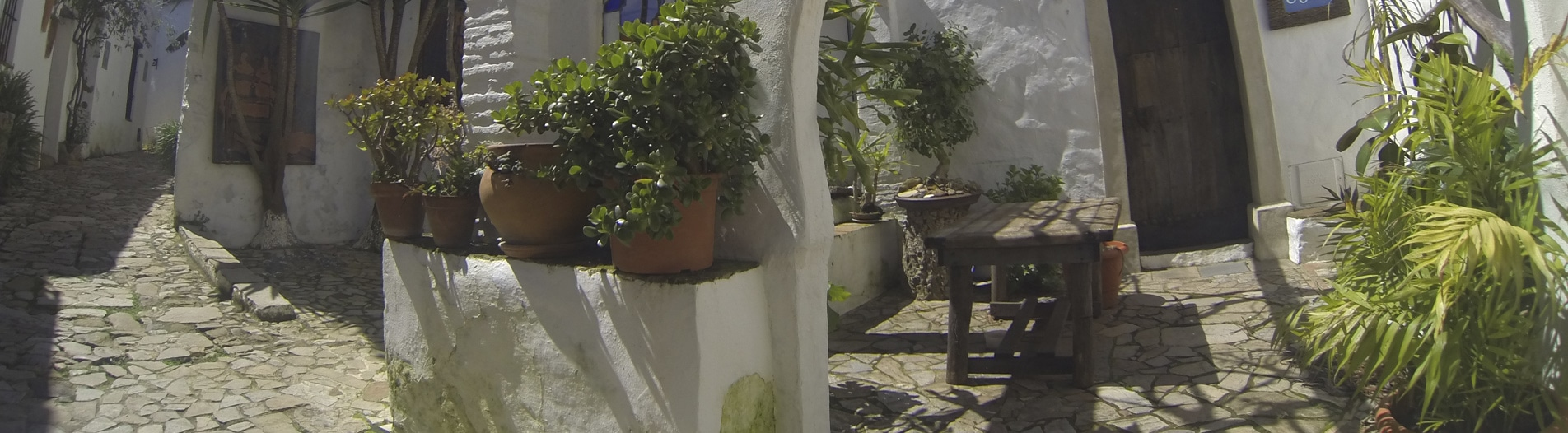 White towns andalucia