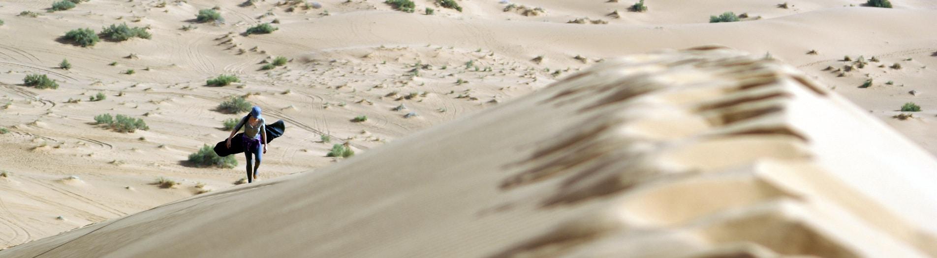 trekking on Dunes