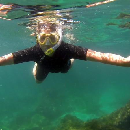 Kayak mas snorkel