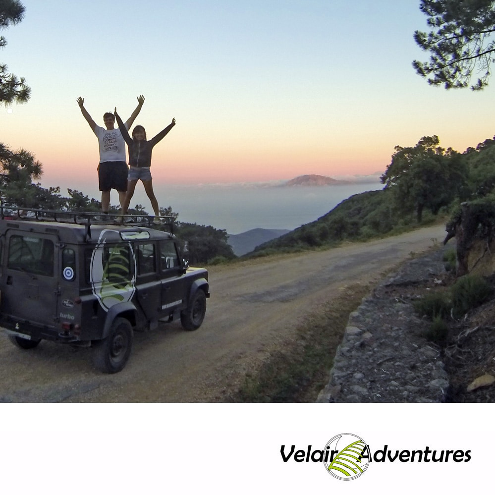Ruta 4X4 Parque Natural Alcornocales, Ruta 4WD Parque Natural de Los Alcornocales, Cadiz Velair Adventures