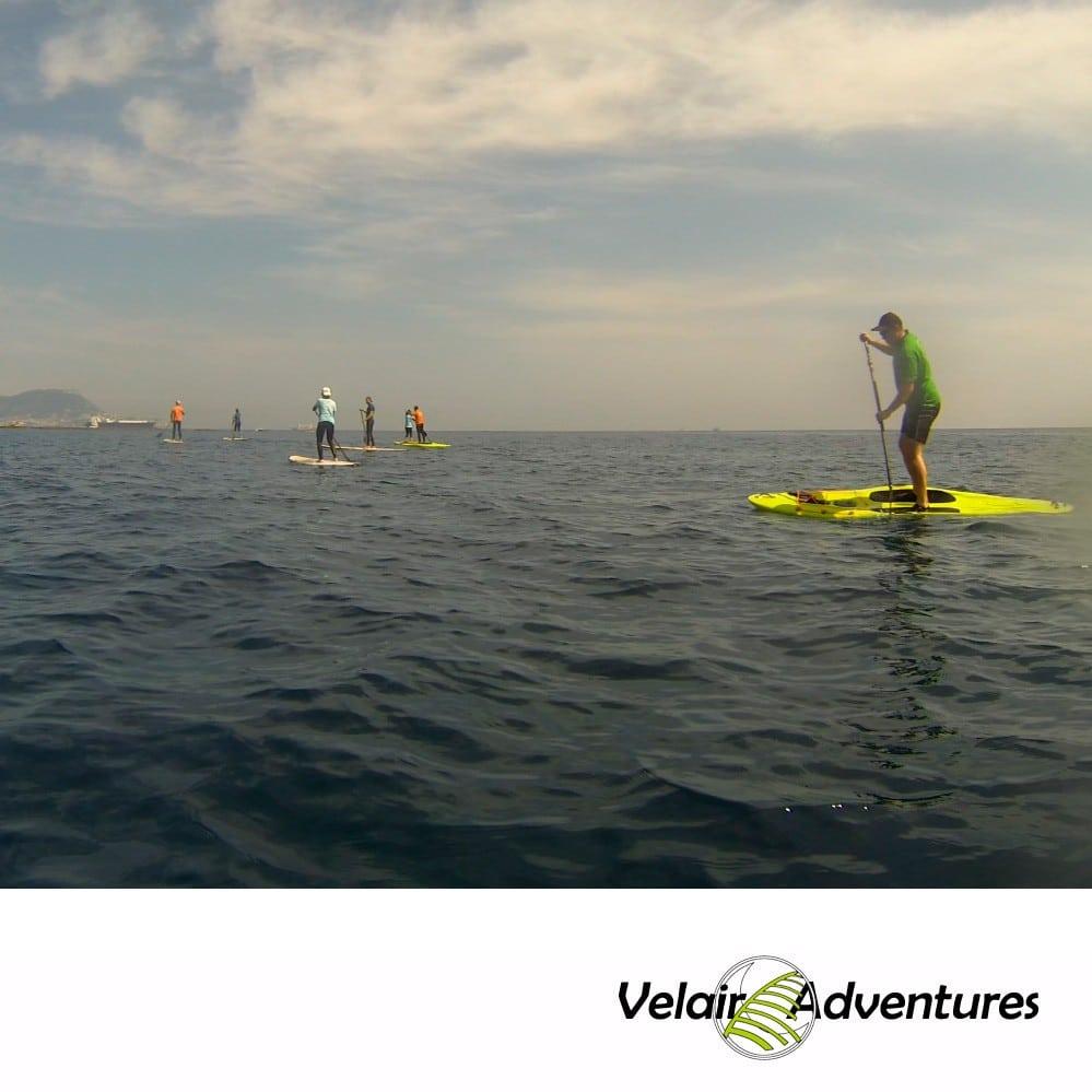 Alquiler de paddle surf iniciacion