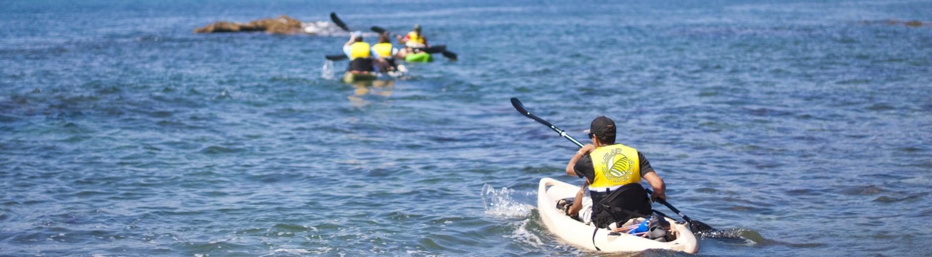 Rutas y excursiones en Kayak