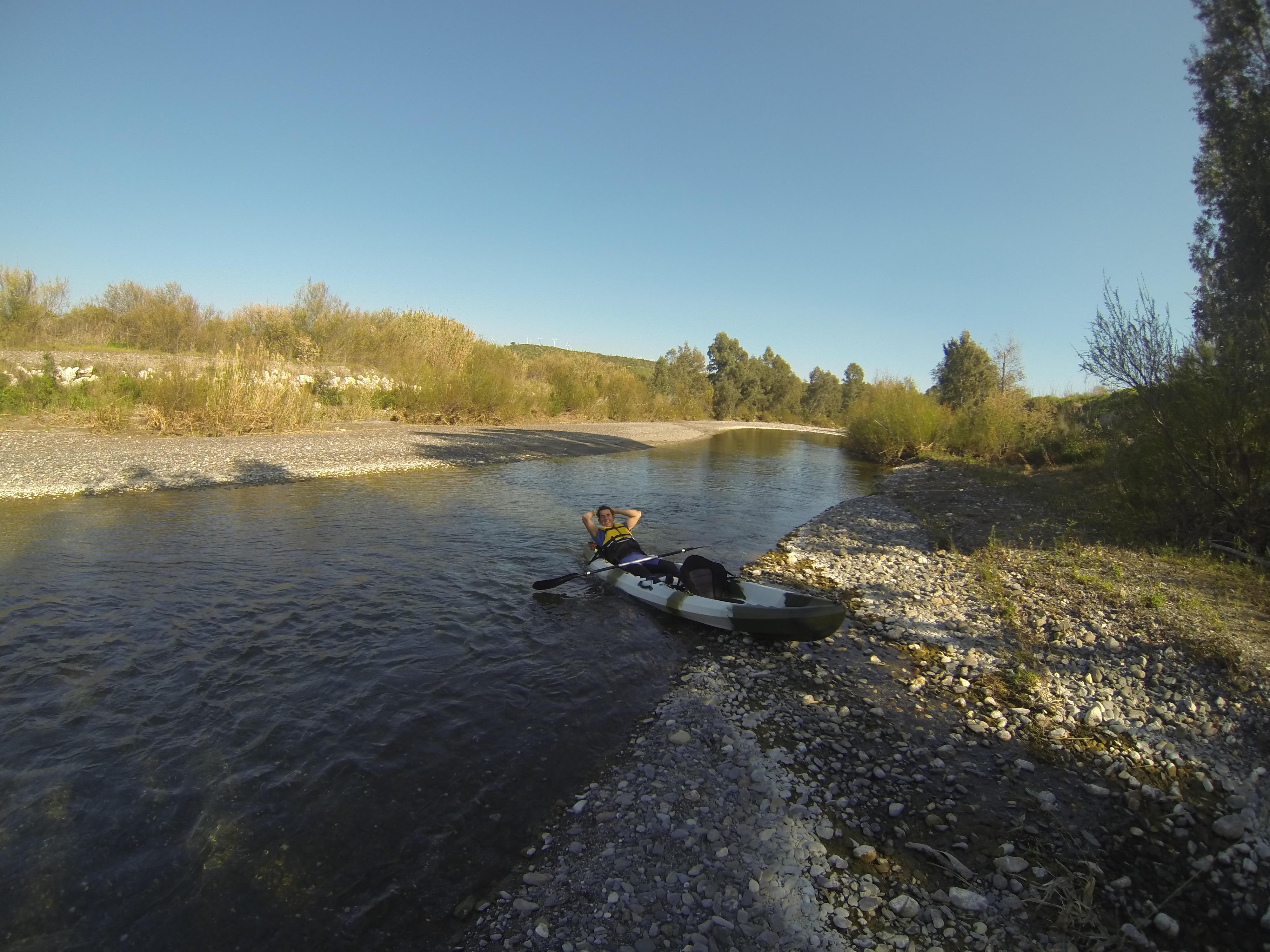 Kayak río Guadiaro