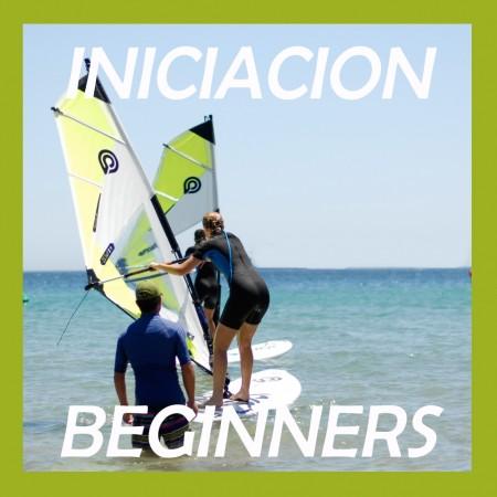 Windsurf Clases Iniciacion Grupo 4 horas