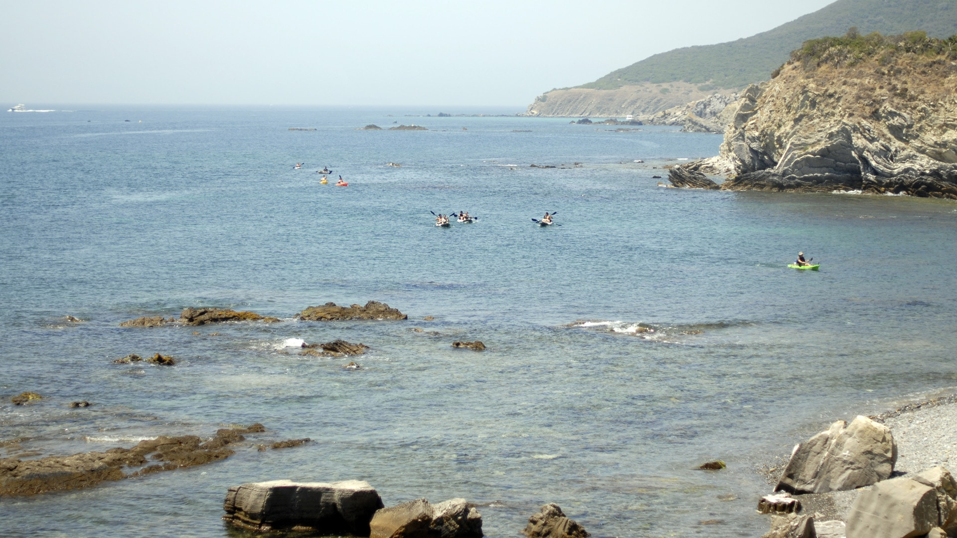 Actividades Tarifa kayak en Cadiz