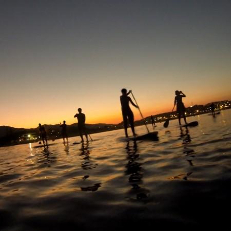 rutas luna llena paddle surf cadiz