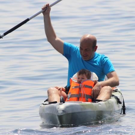 Kayaking Gibraltar Strait