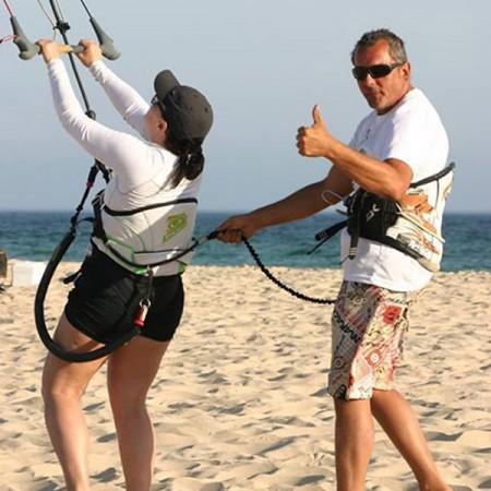 Curso kitesurf semiprivado