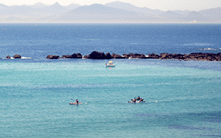 Deportes de agua-kitesurf-windsurf-surf-paddlesurf-Rutas en kayak