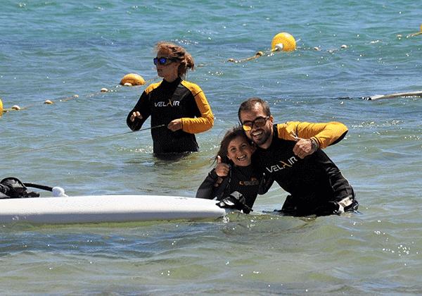 Campamento verano en playa Getares