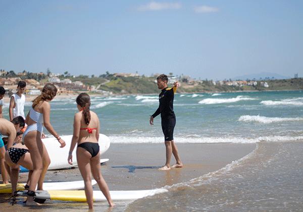 campamento verano-surfeando