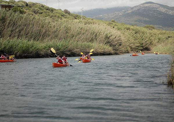 Kayak-campamento verano-clases