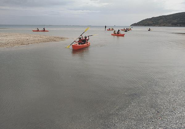 Playa Getares-campamento verano