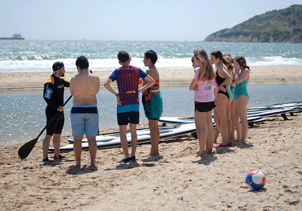 Campamentos en ingles en Algeciras-deportes acuaticos