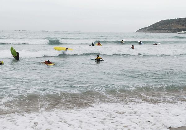 surfeando en Algeciras