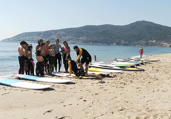 Aprendiendo a surfear-Playa getares-Algeciras