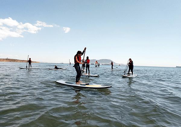 Campamento verano-Algeciras-Rutas paddle surf