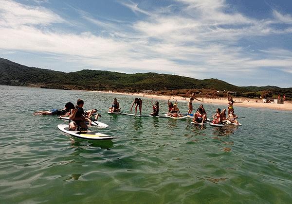 Campamento verano-Algeciras-paddle surf